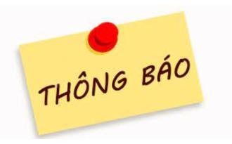 Thông báo mở lớp ôn luyện Tiếng Anh trình độ A2, B1 theo chuẩn đầu ra - Tháng 10/2021